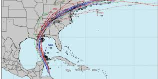 Tropical Storm Nate How To Read Spaghetti Models As It