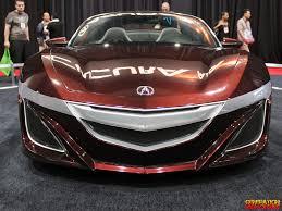 SEMA 2012: Acura NSX Roadster Concept Car | GenHO