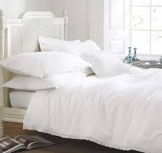 vintage lace cream cotton bedding bed linen duvet cover make a bedspreads king size luxury