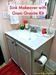 giani countertop paint small project kit slate granite sicilian sand reviews white diamond