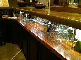 View more photos of this Mahogany Bar Top