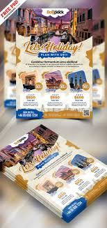 Holiday Travel Flyer Design Psd Psdfreebies Com
