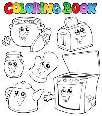 Small Picture Photo Album Kitchen Coloring Page Kitchen Design Ideas
