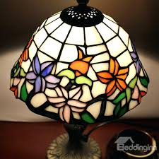 stained glass table lamp patterns amazing 8 inch style fl pattern stained glass table lamp pool