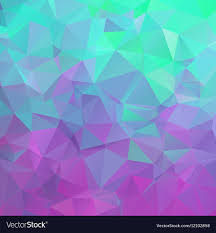 Polygonal Square Background Colors From Green
