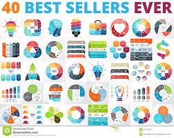 Best Vector Circle Infographics Set Business Diagrams