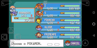 Finally, playing my first Pokemon game. On a gba emulator. Best game to  play while traveling. : gaming
