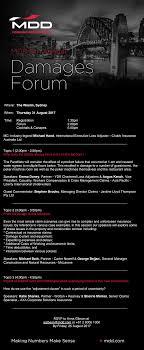 Where: The Westin, Sydney When: Thursday 31 August 2017 Time: Registration  Forum Cocktails & Canapes 1:30pm 2:00pm 5:00pm MC