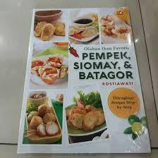Maybe you would like to learn more about one of these? Jual Produk Resep Siomay Batagor Pempek Termurah Dan Terlengkap Juli 2021 Bukalapak