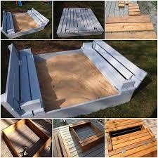 diy sandbox for kids diy kids sandbox