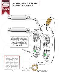 accessory pot seymour duncan part  2 lipstick tubes 2 volume 2 tone 3 way toggle