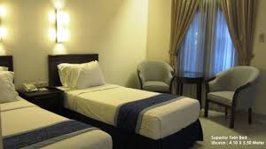 grand orchid hotel solo superior twin bed room