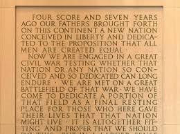 the gettysburg address american civil war com