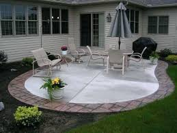 backyard concrete patio ideas stamped concrete patio with fire pit elegant inspirational backyard concrete patio ideas