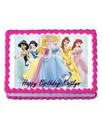 Online Disney Princess Theme Photo Cake Delivery Delhi Noida Gurgaon