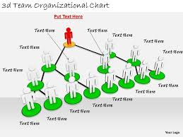2513 3d Team Organizational Chart Ppt Graphics Icons