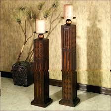 tall floor candle holders wooden floor candlestick holders designs tall wooden floor candle holders