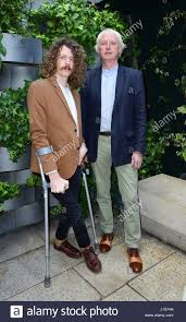 Songwriters Blaine Harrison and Henry Harrison of Mystery Jets are Stock  Photo - Alamy