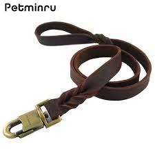 2019 petminru leather dog leash quick release dog pet leashes walking training leads collars harness from unclouded01 20 21 dhgate com