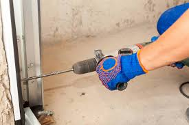 daily use of your garage door can cause any one of them to loosen and loose links can cause the garage unit to vibrate or rumble when you re opening or