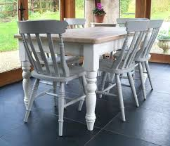 painted farmhouse table hand painted dining room chairs table with cottage chairs hand painted farmhouse table
