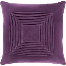 plum throw pillows. Plain Throw Quadratum Velvet Purple Throw Pillow Cover 22inch On Plum Pillows C