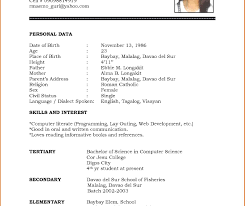 Biodata Format Powerpoint Marriage Sample Free For Resume Word ...
