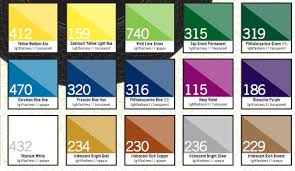 Liquitex Acrylic Ink Color Chart Acrylic Inks Can Be