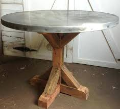 round zinc table top diy pictures of sheets installed