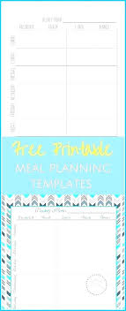 free menu planner free meal planner template download meal planner template excel menu