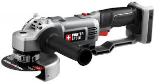 cordless grinder. porter-cable bare-tool pc18ag 18-volt cordless expansion angle grinder r
