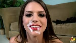 Red tube lipstick blow jobs
