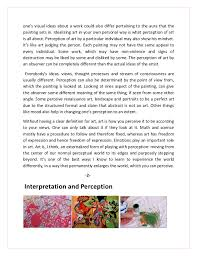 essay on art and beauty essay art and emotions