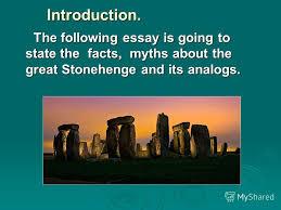 Презентация на тему a great riddle stonehenge introduction  2 introduction