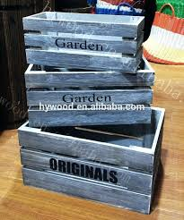 apple crates for decorative small shabby chic garden wooden wine fruit boxes vegetable apple crate