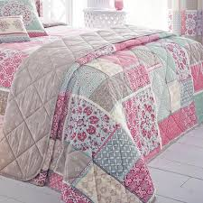 Pink Quilted Bedspreads | Duvet Covers And Bedding Sets | Terrys ... & Shantar Bedspread Adamdwight.com