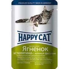 Купить корм <b>паучи Happy Cat</b> (Хэппи Кэт) для кошек в интернет ...