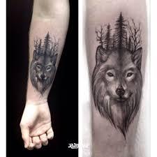 волк татуировки в красногорске Rustattooru