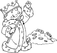 Kleurplaat Koningshuis Animaatjesnl
