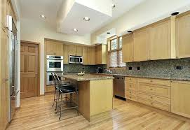 light oak kitchen cabinets kitchen with island for dining and light maple wood cabinets pictures of
