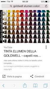 Goldwell Elumen Color Chart Book Color By Goldwell