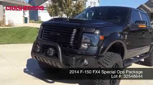 2014 F-150 FX4 Special Ops Package, Lot 32548644 - YouTube
