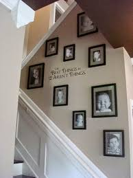 Stairs Wall Decoration Ideas Decorating Staircase Wall 1000 Ideas About Stairway Wall