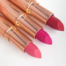 CHARLOTTE TILBURY s K.I.S.S.I.N.G Fallen From The Lip Stick Tree.