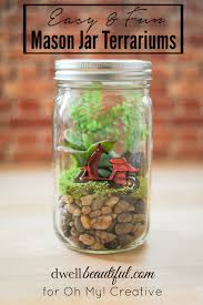 Cute DIY Mason Jar Ideas - Easy DIY Mason Jar Terrarium - Fun Crafts,  Creative