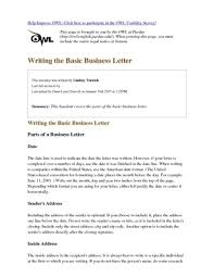 Resume Examples Templates Writing A Cover Letter Purdue Owl Cover