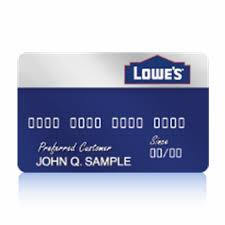 Lowes Commercial Credit Card Application Lowes Credit Card Review