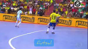 الجزء2 للنجم البرازيلي فالكاو أمهر وأروع لاعب كرة القدم داخل الصالة. -  YouTube