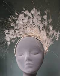 Jane Taylor Millinery has lovely headpieces for both the bride and the guests. - Jane-Taylor-Millinery
