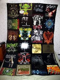 Best 25+ Old tshirt quilt ideas on Pinterest | Sewing for dummies ... & T Shirt Blanket (Metal Version) Adamdwight.com